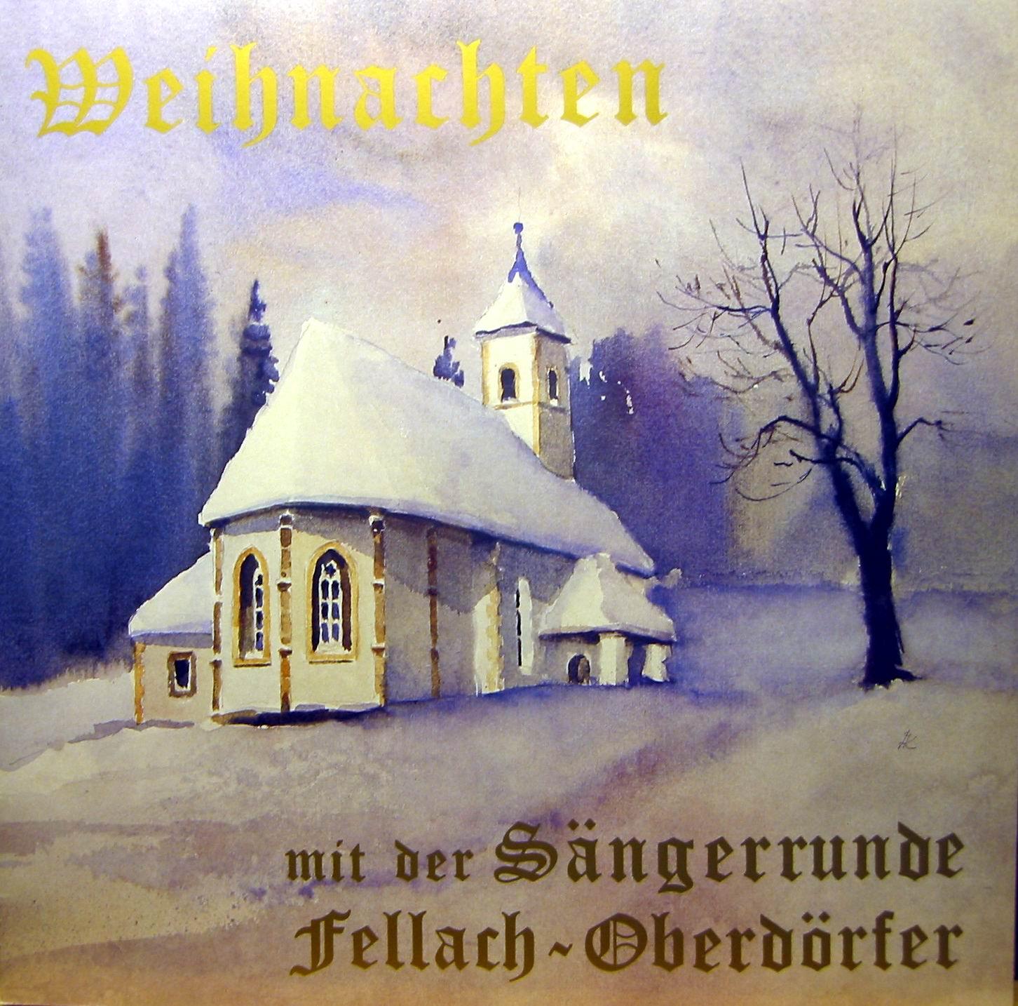 Sängerrunde Fellach Oberdörfer Weihnacht a